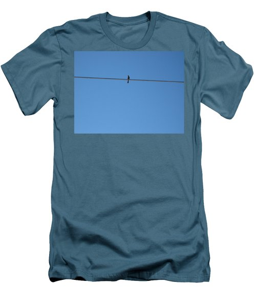 Alone At Last Men's T-Shirt (Slim Fit) by Kume Bryant