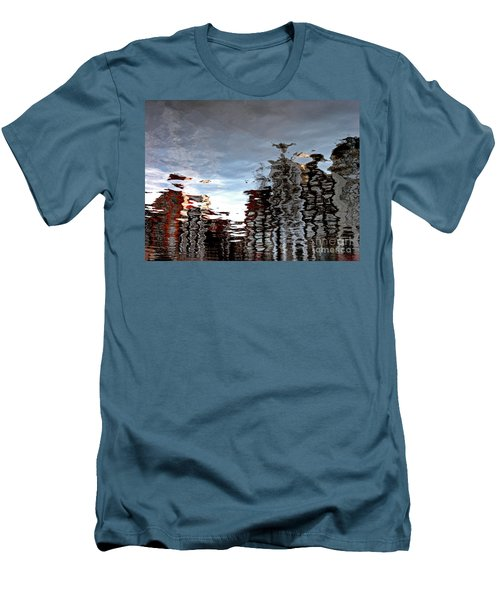 Amsterdam Reflections Men's T-Shirt (Slim Fit) by Andy Prendy
