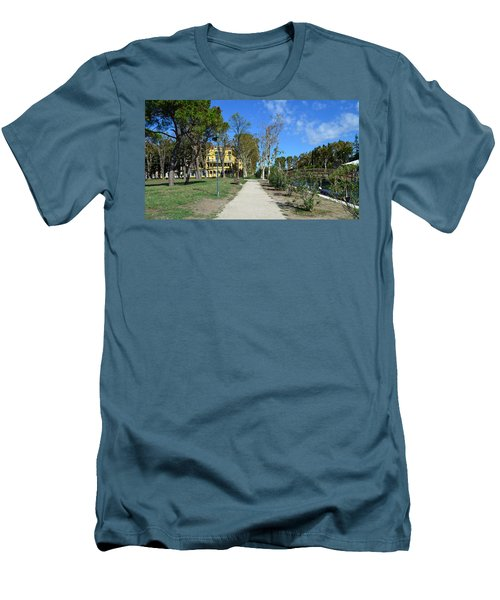 Men's T-Shirt (Slim Fit) featuring the photograph Arsenale by Barbara Walsh