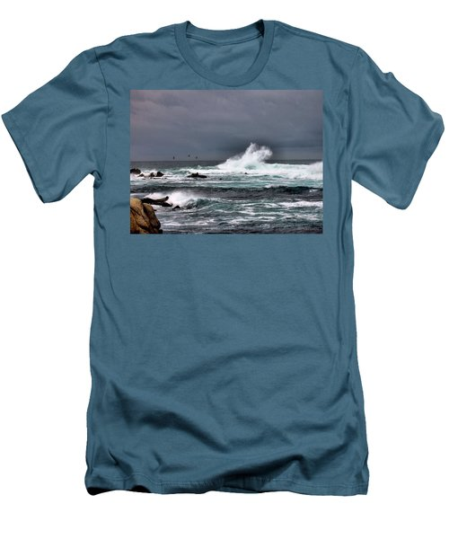 Asilomar 2007 Men's T-Shirt (Slim Fit) by Joyce Dickens