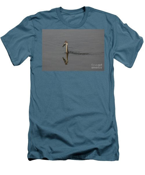 Men's T-Shirt (Slim Fit) featuring the photograph Breakfast by Eunice Gibb