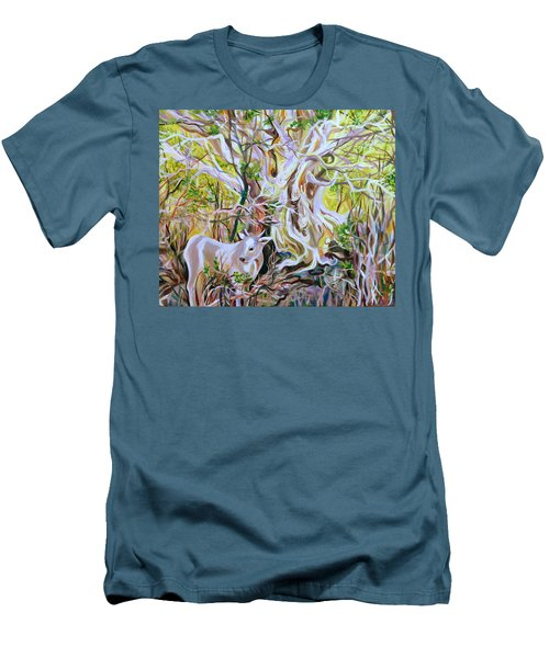 Cactus-tree Men's T-Shirt (Athletic Fit)