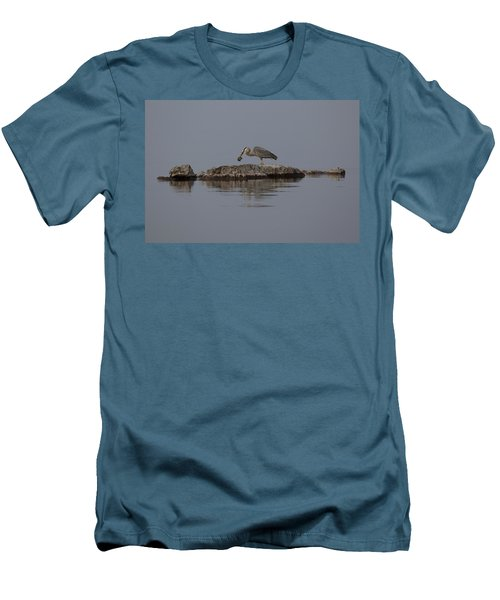 Caught One Men's T-Shirt (Slim Fit) by Eunice Gibb
