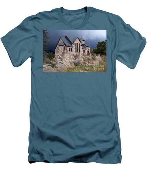 Chapel On The Rocks No. 1 Men's T-Shirt (Athletic Fit)