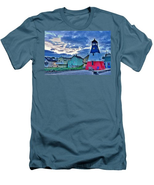 Men's T-Shirt (Slim Fit) featuring the photograph Cheticamp In Cape Breton Nova Scotia by Joe  Ng