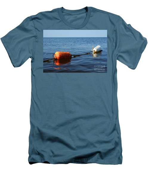 Men's T-Shirt (Slim Fit) featuring the photograph Closed by Barbara McMahon