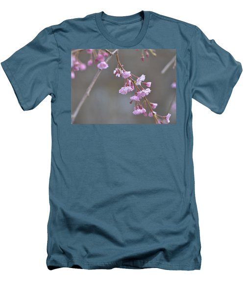 Men's T-Shirt (Slim Fit) featuring the photograph Crepe Myrtle by Lisa Phillips