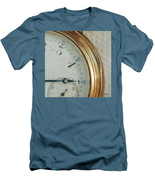 Men's T-Shirt (Slim Fit) featuring the photograph Details Of Time 2 by Kay Lovingood
