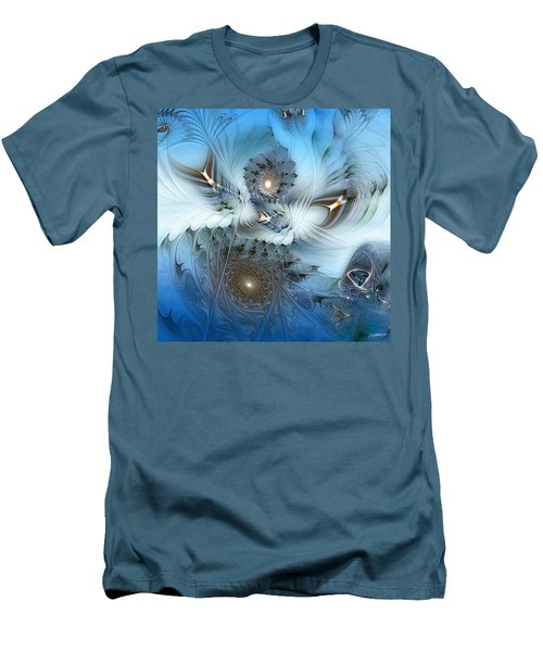Men's T-Shirt (Slim Fit) featuring the digital art Dream Journey by Casey Kotas