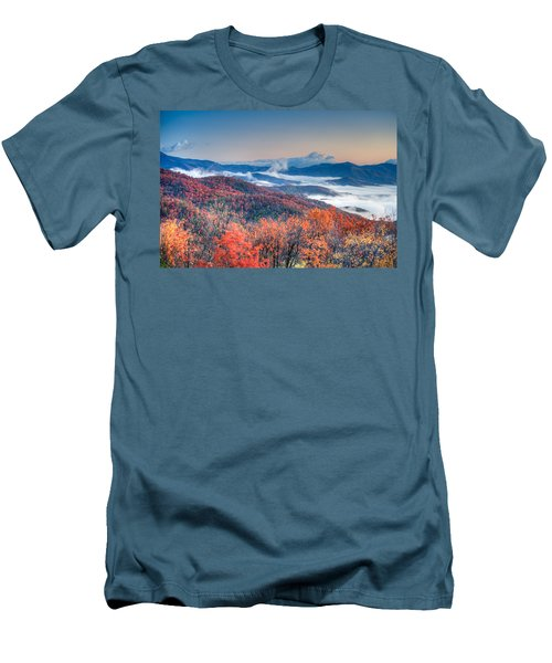 Fall Fog 1 Men's T-Shirt (Athletic Fit)