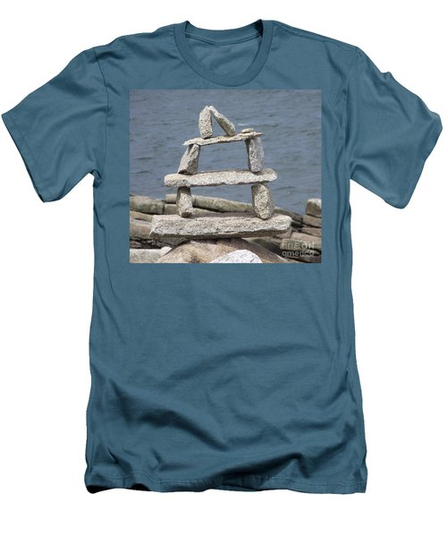 Finding Balance Men's T-Shirt (Athletic Fit)