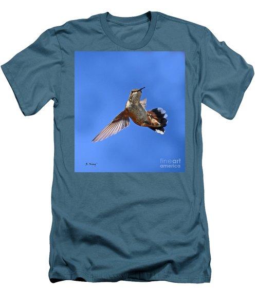 Flying Backwards - No Problem Men's T-Shirt (Athletic Fit)