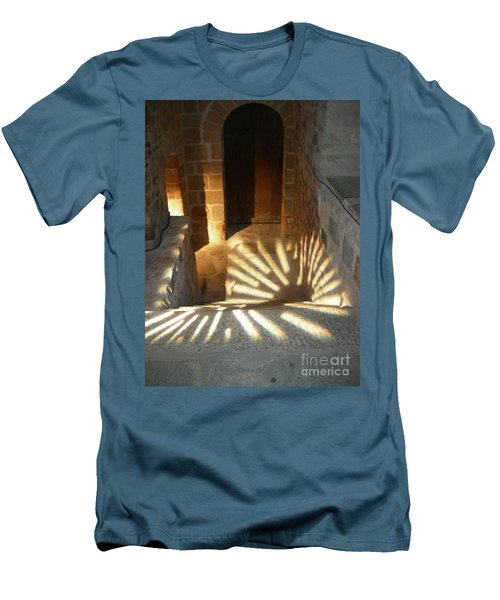 Follow The Light-stairs Men's T-Shirt (Athletic Fit)