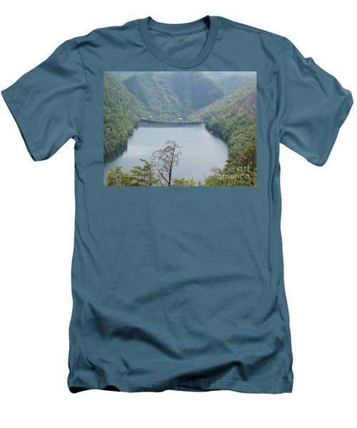 Fontana Dam Men's T-Shirt (Athletic Fit)