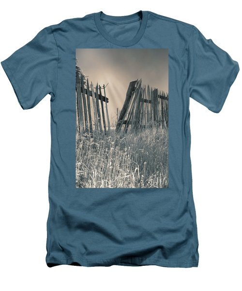 Men's T-Shirt (Slim Fit) featuring the photograph Freedom by Mary Almond
