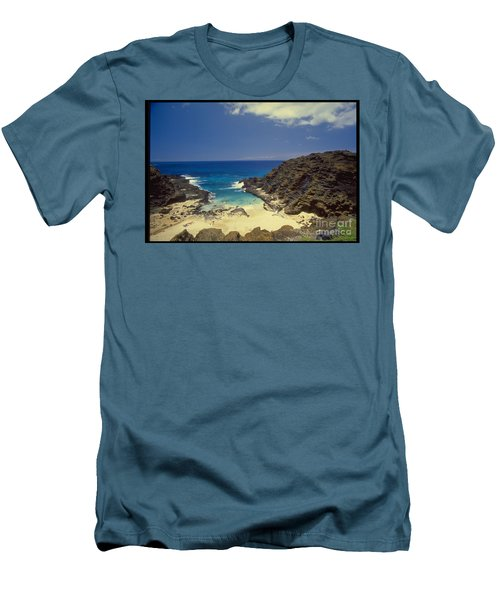 From Here To Eternity Beach Men's T-Shirt (Athletic Fit)