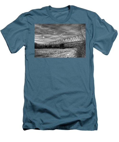 Frozen Tracks Men's T-Shirt (Athletic Fit)