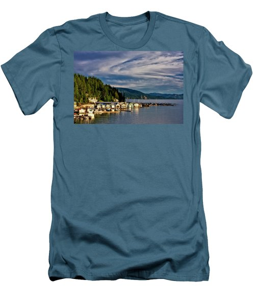 Garfield Bay Men's T-Shirt (Slim Fit) by Albert Seger