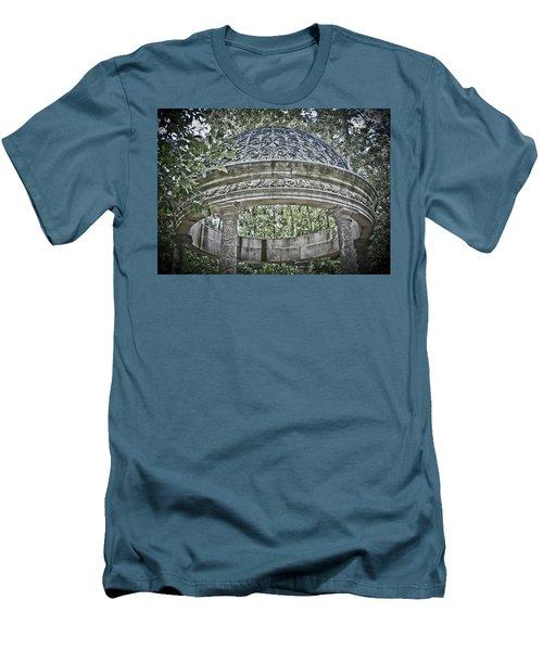 Gazebo At Longwood Gardens Men's T-Shirt (Athletic Fit)