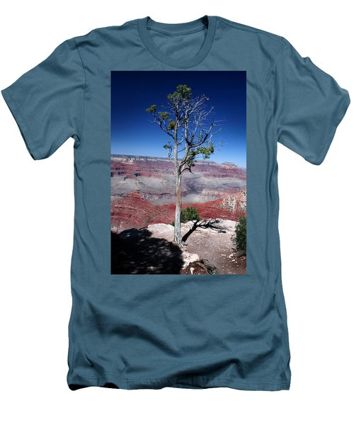 Men's T-Shirt (Slim Fit) featuring the photograph Grand Canyon Number Two by Lon Casler Bixby