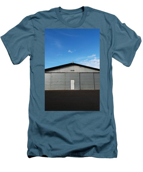 Men's T-Shirt (Slim Fit) featuring the photograph Hangar 2 by Kathleen Grace
