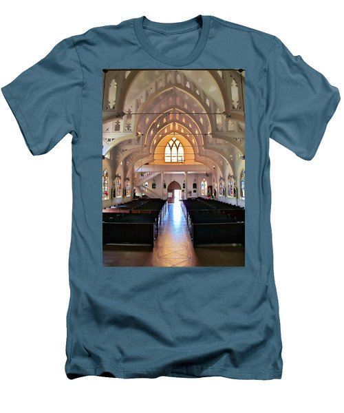 Men's T-Shirt (Slim Fit) featuring the photograph Holy Rosary 2 by Dawn Eshelman