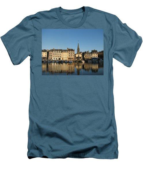 Men's T-Shirt (Slim Fit) featuring the photograph Honfleur  by Carla Parris