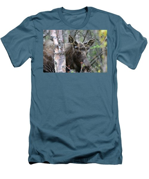 Men's T-Shirt (Slim Fit) featuring the photograph Just A Start by Doug Lloyd