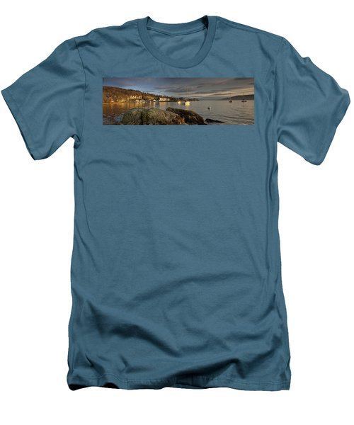 Men's T-Shirt (Slim Fit) featuring the photograph Lake Windermere Ambleside, Cumbria by John Short
