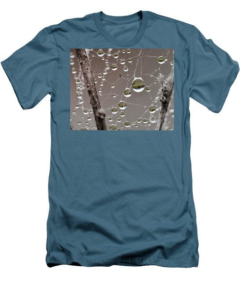 Many Worlds In One Small Space Men's T-Shirt (Athletic Fit)