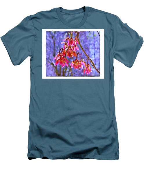 Men's T-Shirt (Slim Fit) featuring the photograph Maple Keys by Judi Bagwell