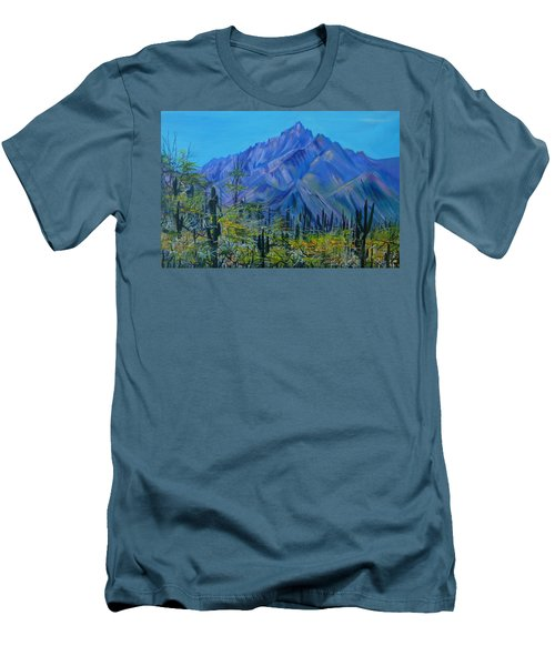 Mexico. Countryside Men's T-Shirt (Athletic Fit)
