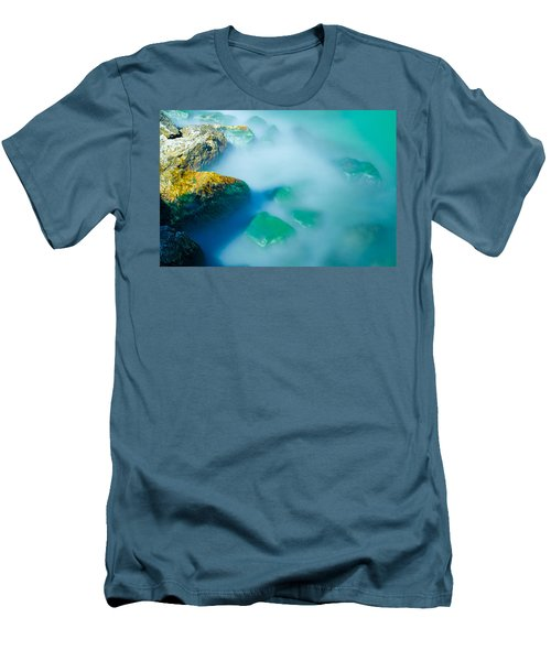 Misty Water Men's T-Shirt (Athletic Fit)