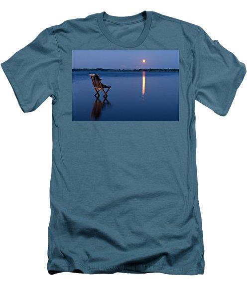 Men's T-Shirt (Slim Fit) featuring the photograph Moon Boots by Gert Lavsen