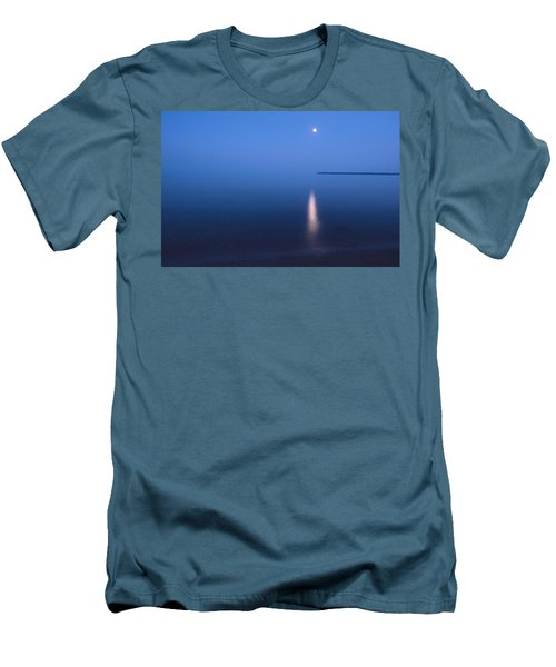 Moonrise On Lake Superior Men's T-Shirt (Athletic Fit)