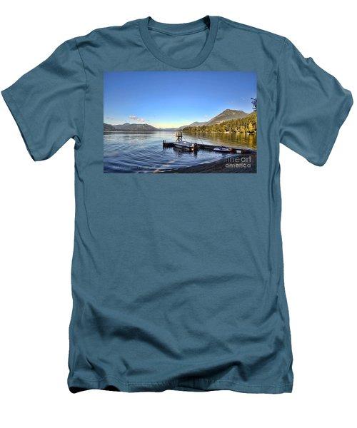 Mornings In British Columbia Men's T-Shirt (Athletic Fit)