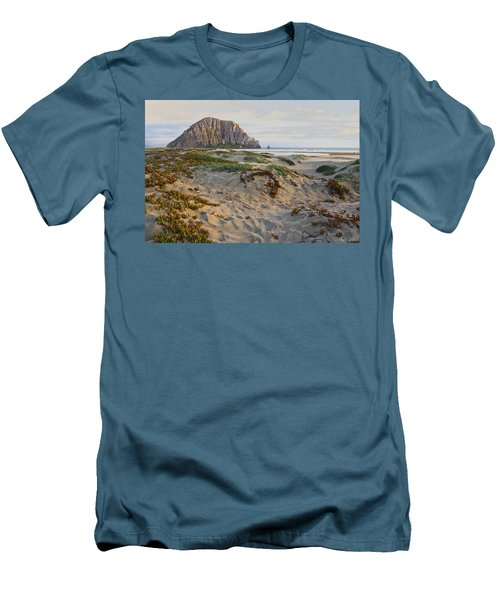 Morro Rock Men's T-Shirt (Athletic Fit)