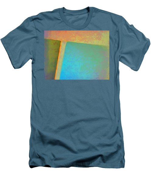 Men's T-Shirt (Slim Fit) featuring the digital art My Love by Richard Laeton