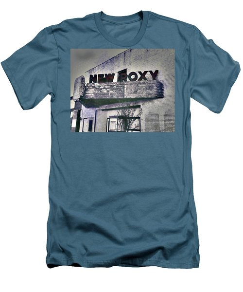 Men's T-Shirt (Slim Fit) featuring the photograph New Roxy Clarksdale Ms by Lizi Beard-Ward