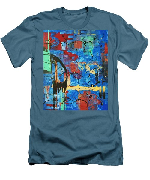 Norval Morrisseau On My Mind Men's T-Shirt (Athletic Fit)