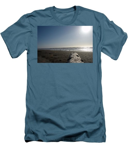 Ocean At Peace Men's T-Shirt (Athletic Fit)