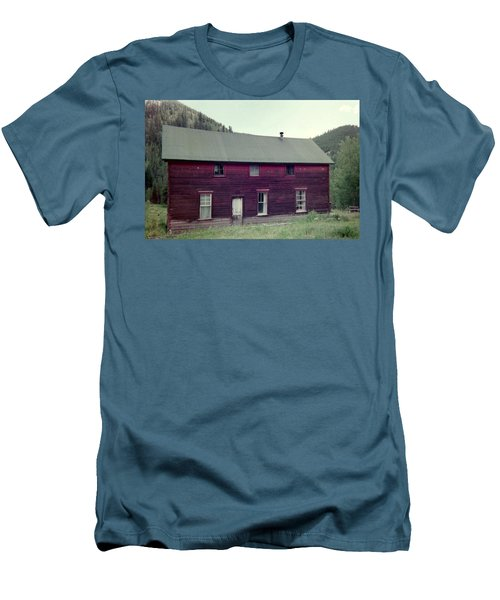 Men's T-Shirt (Slim Fit) featuring the photograph Old Hotel by Bonfire Photography