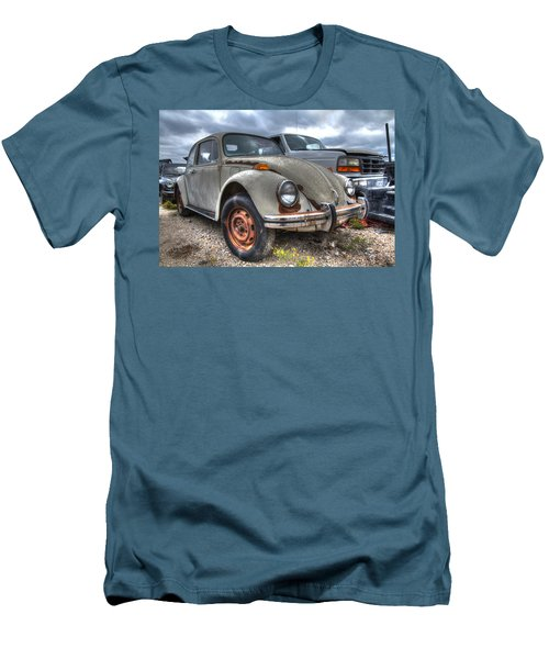 Old Vw Beetle Men's T-Shirt (Athletic Fit)