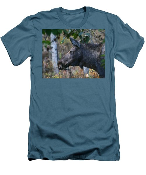 Men's T-Shirt (Slim Fit) featuring the photograph On Alert by Doug Lloyd
