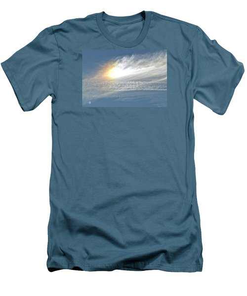 Men's T-Shirt (Slim Fit) featuring the photograph On High by Barbara Middleton