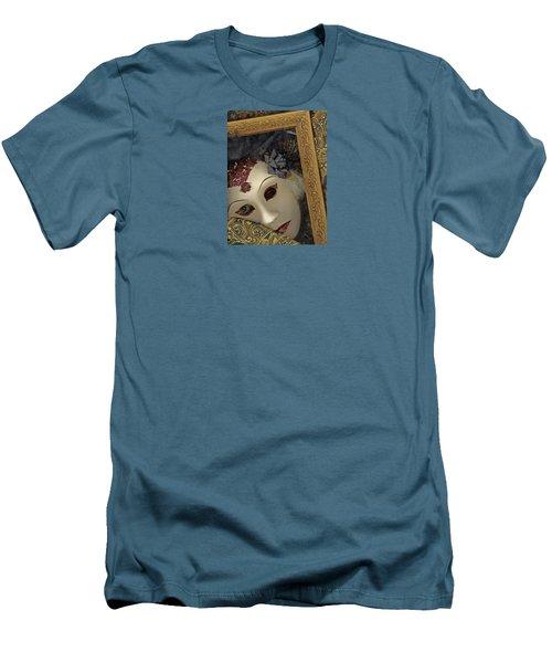 Pensive Men's T-Shirt (Slim Fit) by Nareeta Martin