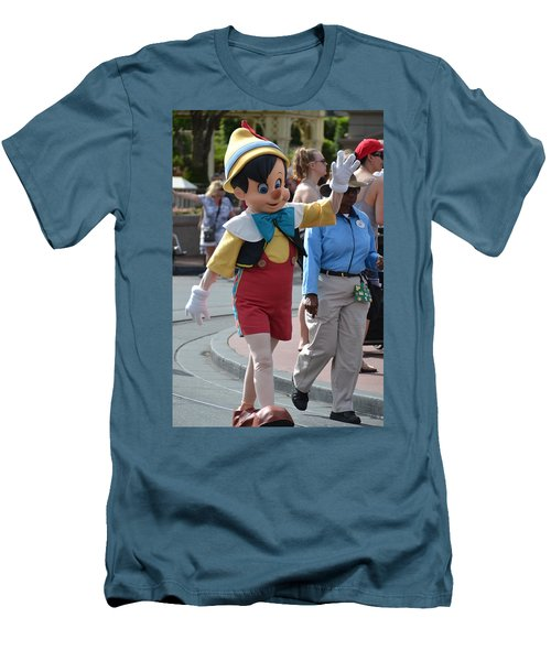 Pinocchio Men's T-Shirt (Athletic Fit)