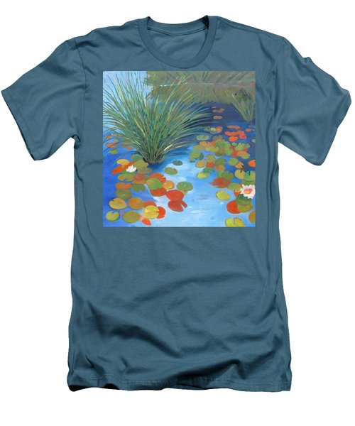 Pond Revisited Men's T-Shirt (Slim Fit) by Gary Coleman