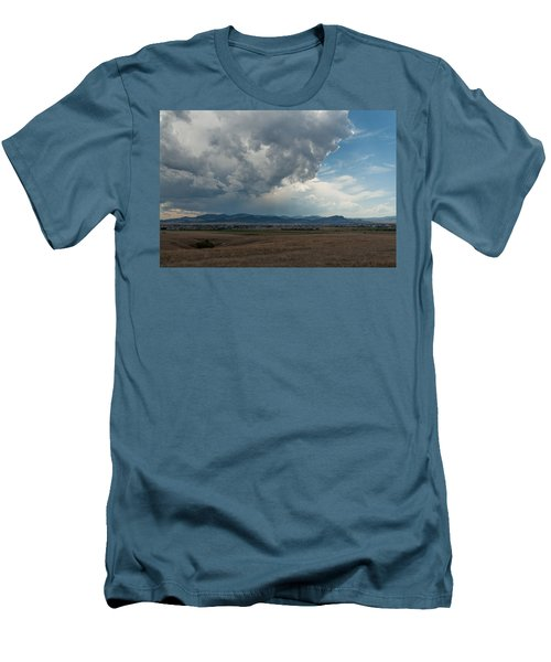 Men's T-Shirt (Slim Fit) featuring the photograph Promises Of Rain by Fran Riley