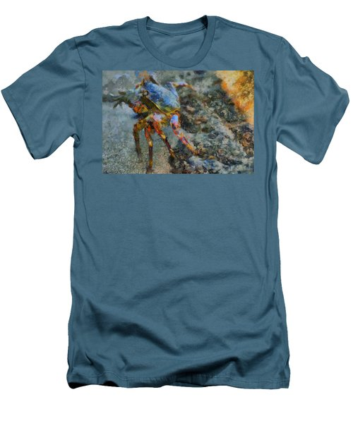 Rainbow Crab Men's T-Shirt (Athletic Fit)